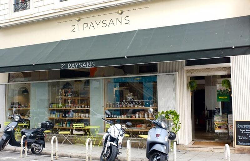 restaurant 21 paysans